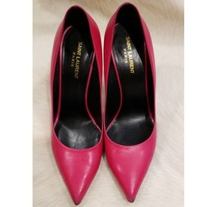 Saint Laurent Stiletto Pink Pumps Size 41